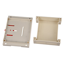 Uxcell 115mm x 90mm 40mm/4.53 3.54 1.57 White Plastic Electric  Enclose Terminal Junction Project Box Connector 1Pcs