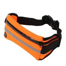 Outdoor Sports Men Women Waist Packs Bags Running Bags Unisex Sport  Nylon Waistband for Accessory Small Travel Belt Bag