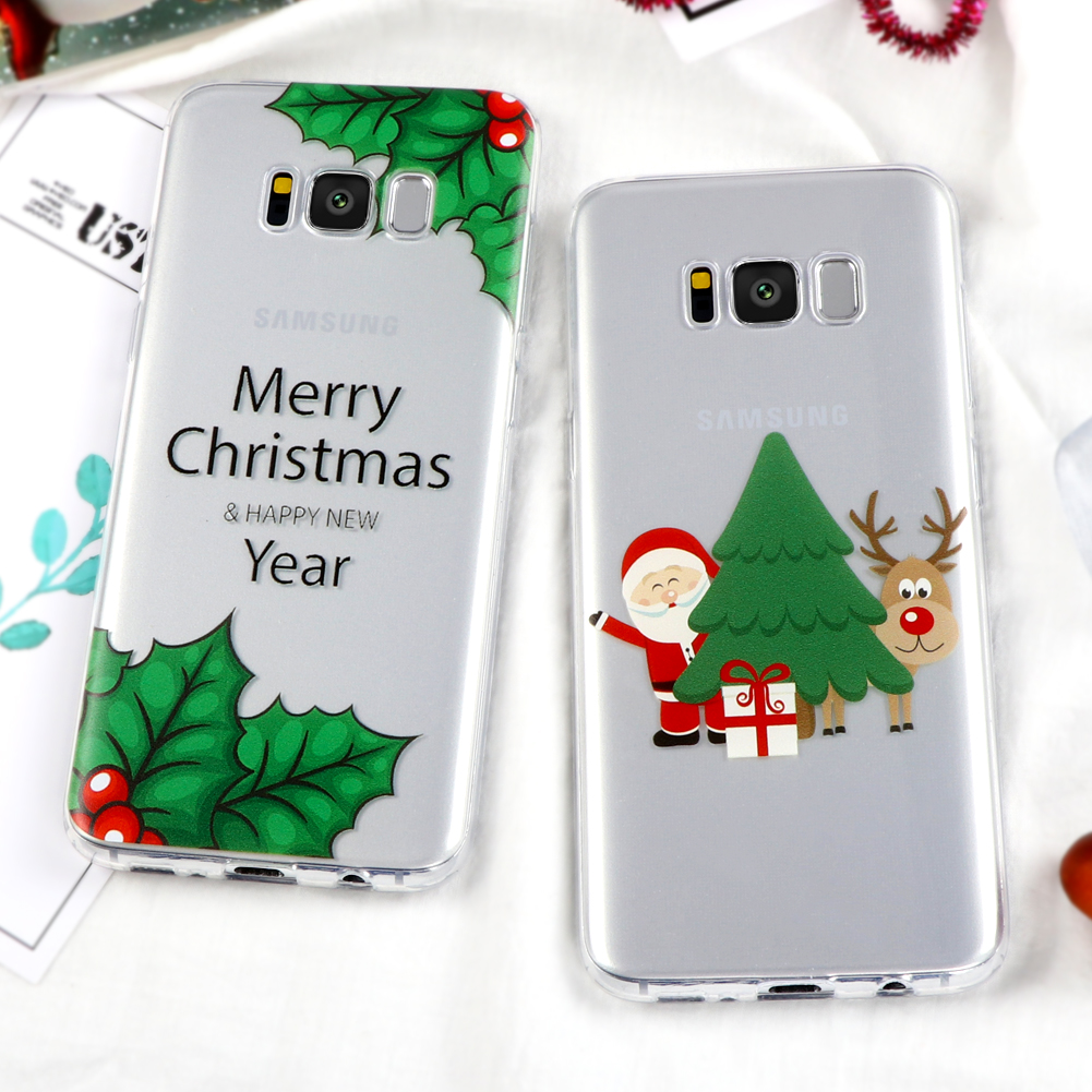 Christmas Case for iPhone X 8 6 6S 7 Plus 4S 5 5S SE 5C Cover for ...