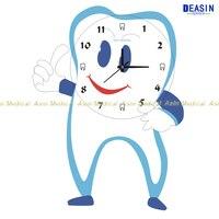Dental colock for Clinic dental wall clock dental decorations crafts dentist gift