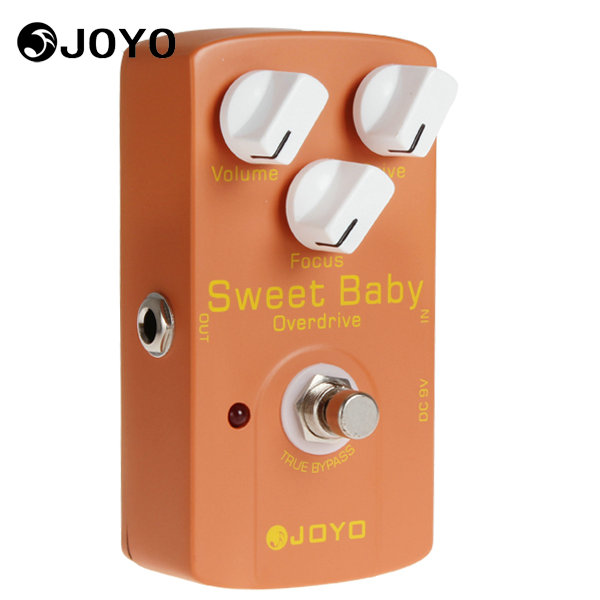 Joyo JF 36 Sweet Baby Electric Guitar Effect Pedal Box Overdrive Effect Focus Knob Musical Instrument