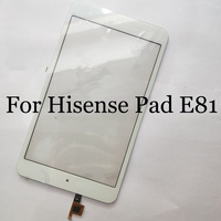 For Hisense Pad E81 Touch Screen Digitizer Sensor Replacement For Hisense E81 touch panel with flex cable Perfect Repair Parts