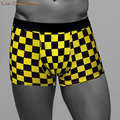 Environmental Dyeing Plaid Men's Underwear Shorts Bamboo fiber Brand Cuecas Pull In Underpants Male Panties 6018