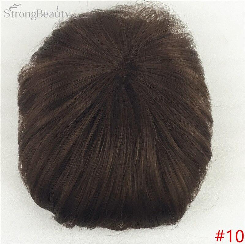 Сильная красота парик синтетические волосы парик выпадение волос топ кусок парики 36 цветов на выбор - Цвет: #10