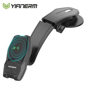 Image 1 - Yianerm מגנטי אלחוטי לרכב טלפון הר מחזיק מגנט Stand צ י סטנדרטי מטען במכונית עבור iPhone X Xs 8 בתוספת סמסונג S8 S7