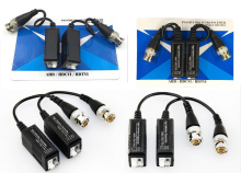 20PCS(10 pairs) HD CCTV Via Twisted Pairs Adapter HD CVI/TVI/AHD Passive Video Balun Male BNC to UTP Cat5/5e/6 Network Camera
