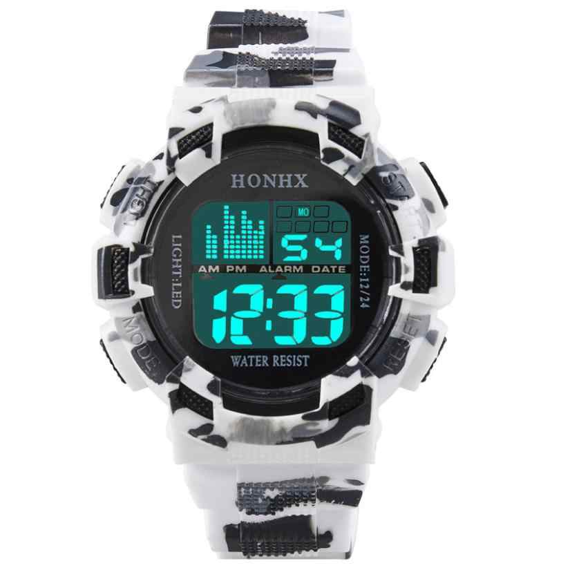 Mode Heren Digitale Led Analoge Quartz Alarm Datum Sport Polshorloge Relogio Masculino Erkek Kol Saati Horloge Mannen
