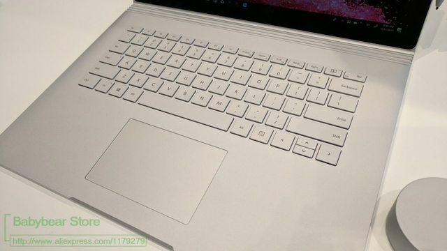 for microsoft surface book 2 15 inch 2018 washable clear tpu