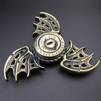 Funny Spinner Fidget Toy Metal EDC Hand Spinner For Kids Adult ADHD Autism Rotation Time Long