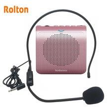K100 Portable Mini Audio Speaker Portable Voice Amplifier Natural Stereo Sound Microphone Loudspeaker for Tour Guide Speech