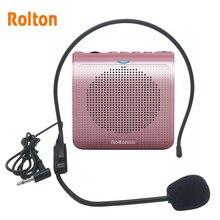 Mini altavoz portátil K100, amplificador de voz, sonido estéreo Natural, micrófono para guía de voz
