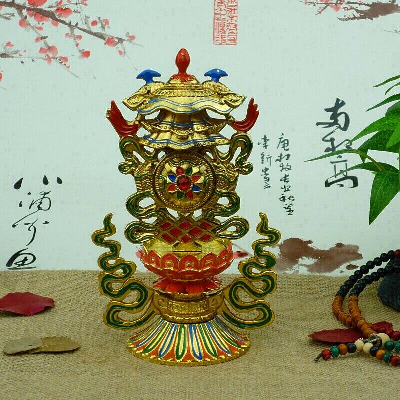 A Combination Of Eight Auspicious Auspicious Symbols Tantric
