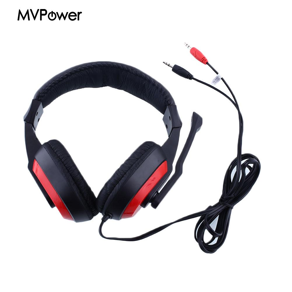 font b Gaming b font Stereo Headphones stereo bass Headset Earphone w Noise canceling Mic