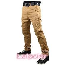 2018 New Fashion Brand Mens Pants Slim Solid Color Elasticity Men Casual Man Trousers Designer Khaki Joggers M-3XL