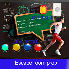 a5e20632299 Real room escape game prop question-machine question and answer machine  answer the questions to