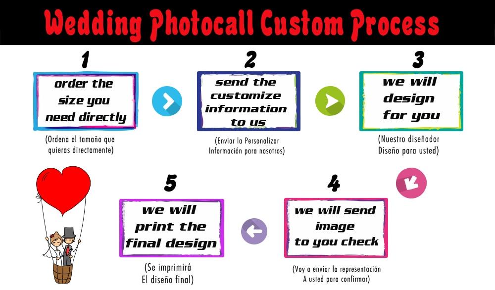 Kate Custom pulmade tahvli nimi Kuupäev Fotoklipp Fotograafia Pulmad - Kaamera ja foto - Foto 3