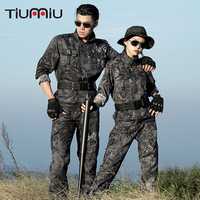 Tactical Clothing Black Crepe US Army Suit Soldiers Airsoft Miliray Uniform Camouflage Militar Combat proven Ww2 Softair German