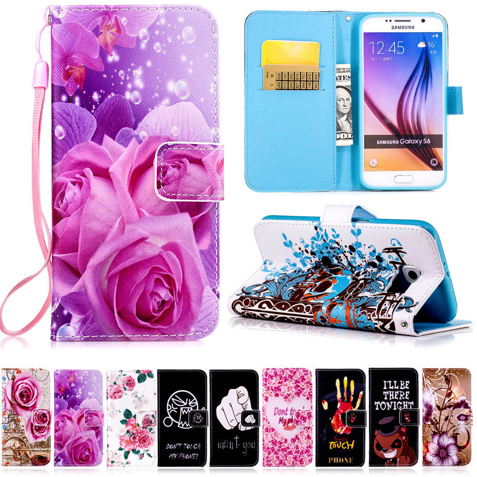 Pu Leather Case For Samsung Galaxy S3 S4 S5 S6 S7 Edge Mini G360 G530 G355  Eventually I'll