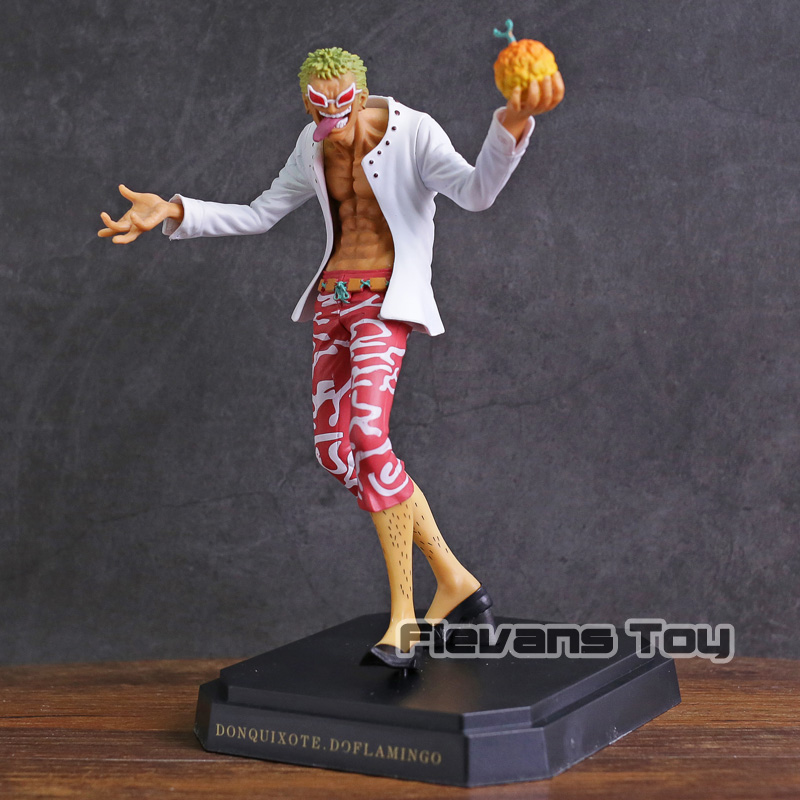 One Piece Donquixote Doflamingo Flame-Flame Fruit Ver. PVC Figure Figurine OnePiece Collectible Model Toy