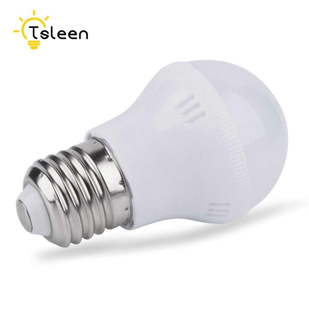 TSLEEN bombillas led Brightly E27 E14 SOCKET LED BULB ROUND LIGHT 5W 7W 9W 12W COOL WARM WHITE LAMP 110V/220V lampada led