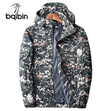 Brand Clothing Autumn Men's Military Camouflage Fleece Jacket Army Tactical Clothing Multicam Male Camouflage Windbreakers(China)