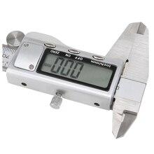 Discount! DSHA Hot Sale 150mm 6″ LCD Digital Vernier Caliper Electronic Gauge Micrometer Precision Tool Silver