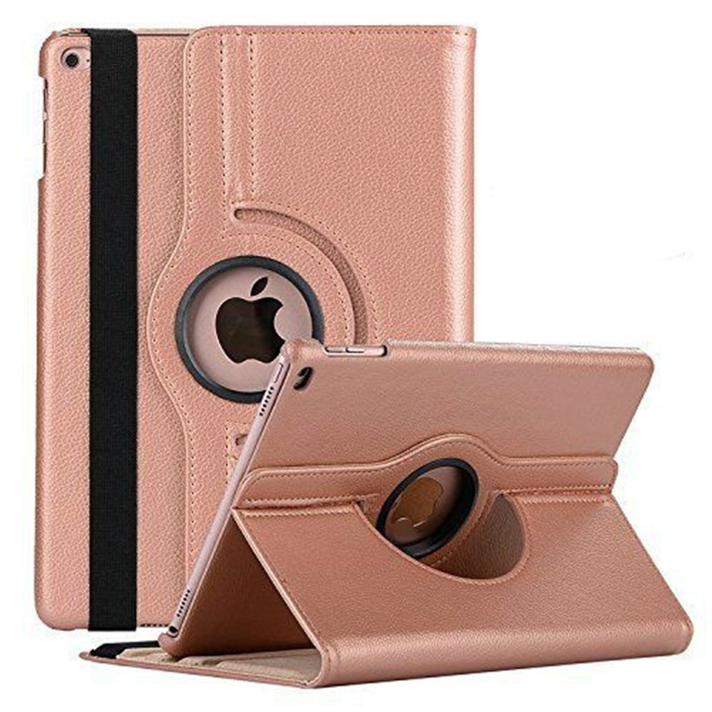 360 Degree Rotating Leather Smart Cover Case for Apple iPad Air 1 Air 2 5 6 New iPad 9.7 2017 2018 A1822 A1823 A1893 Coque Funda360 Degree Rotating Leather Smart Cover Case for Apple iPad Air 1 Air 2 5 6 New iPad 9.7 2017 2018 A1822 A1823 A1893 Coque Funda