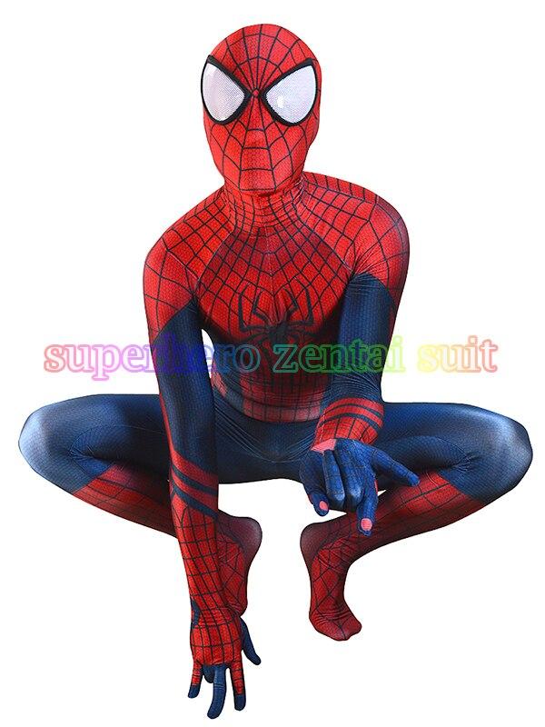 Здесь продается  Spiderman Costume 3D Print Zentai Suit Spandex Male Cosplay Halloween Comic Spider-man Superhero Costume Custom Made Hot Sale  Одежда и аксессуары