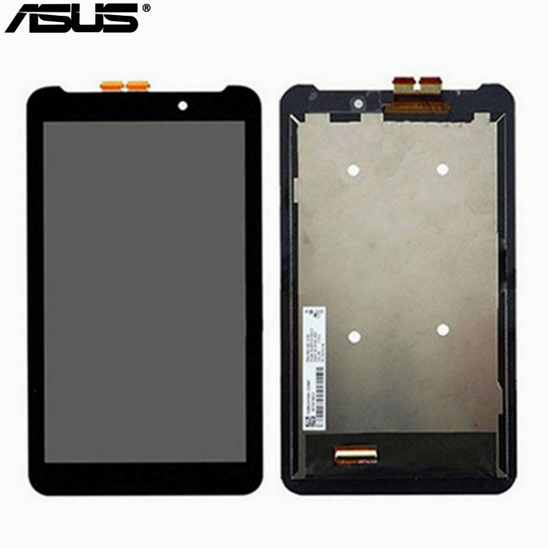 Asus LCD Display + Touch Screen Assembly Replacement Parts For Asus MeMO Pad 7 ME70C ME70C ME170CX 7inch LCD assembly used parts lcd display monitor touch screen panel digitizer assembly frame for asus memo pad smart me301 me301t k001 tf301t
