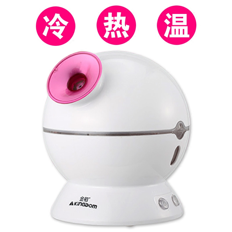 цена Steamed Face Device Beauty Instrument Nano Spray Mist Discharge Sprayer Hot and Cold Spray Ion Moisture Balance Skin онлайн в 2017 году