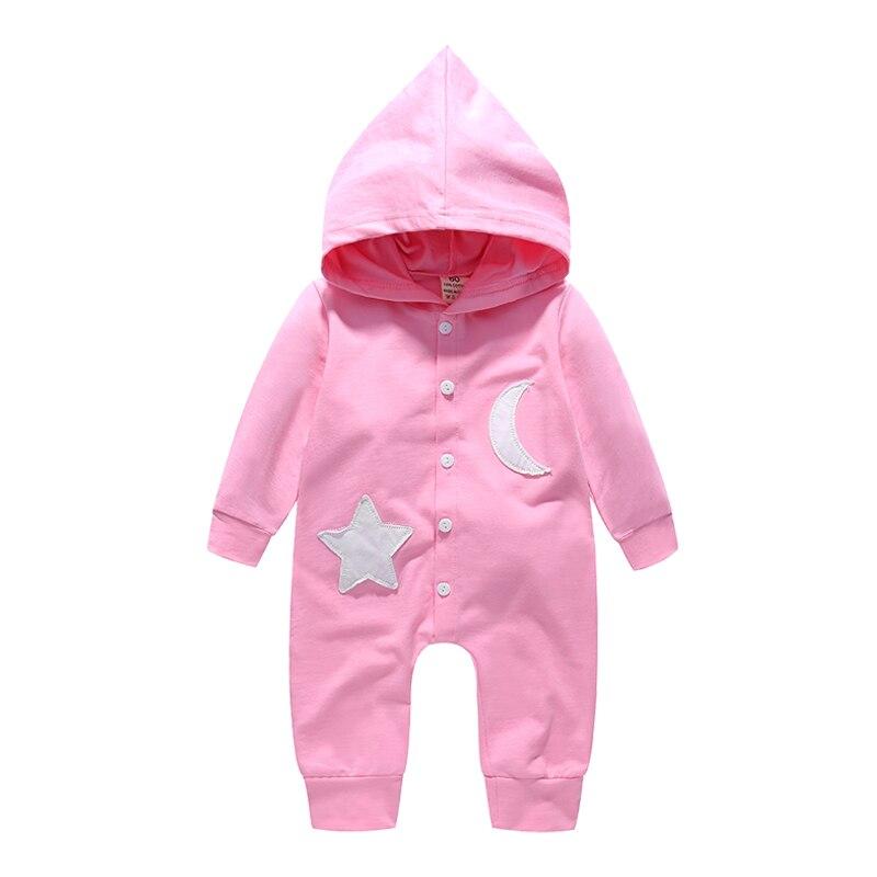 New Fashion Newborn Baby Ropmer Cartoon Star Moon Long