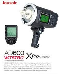 Godox AD600B 600Ws TTL HSS 1/8000 przenośna lampa błyskowa Bowens góra + z Xpro-C/N/S/ f/O dla C N s F OlympusCD15
