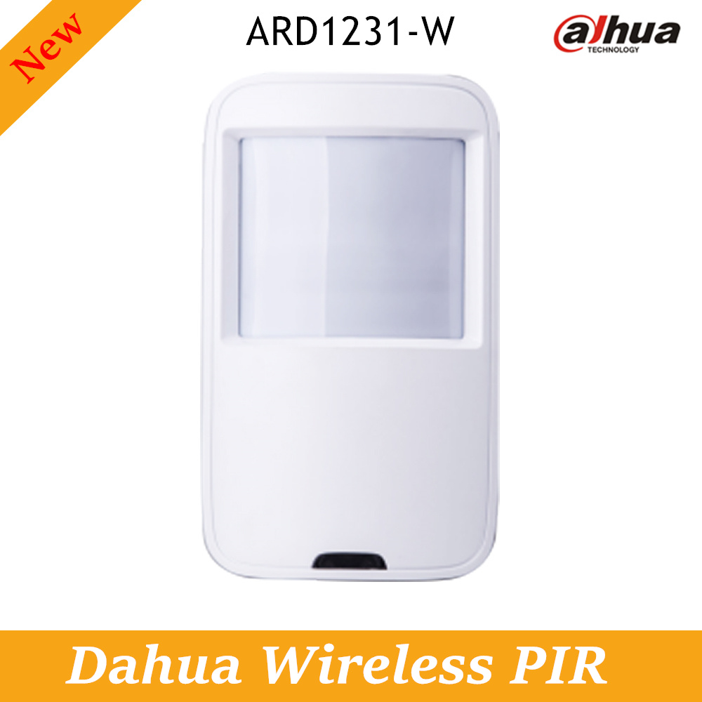 Dahua Wireless PIR ARD1231-W 433MHz Transmission range up to 700m 3 years battery life alarm systems security home Sensors 50pcs d203b d203 to 3 sensors