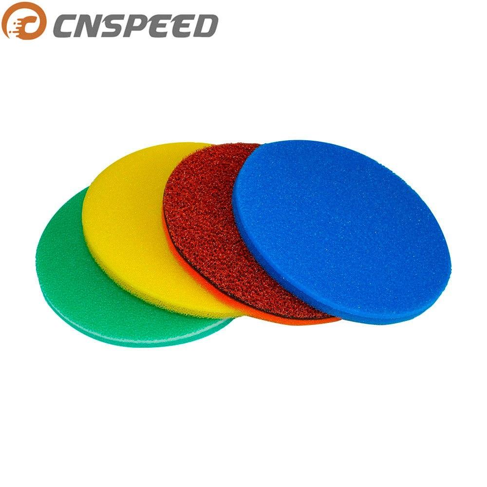 CNSPEED uniwersalny 250mm filtr powietrza pianka 3 warstwy gąbka filtracyjna Element nadaje się grzyb powietrza urządzenie do czyszczenia filtrów czerwony niebieski żółty zielony