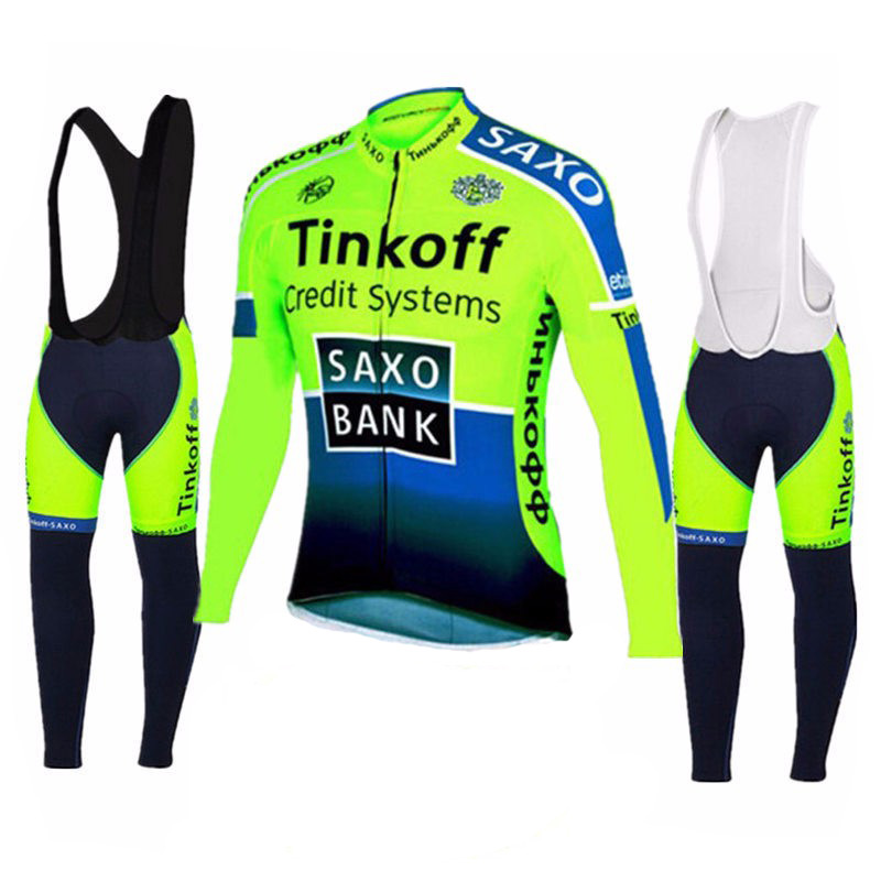 Cycling Jersey Clothing MTB Racing-Bike Tinkoff Long-Sleeve Pro-Team Ropa-Ciclismo