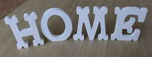 "Special fonts Wooden Wood Free Standing Letters Alphabet Word ""home"" ""love"" for Wedding Party Home Decoration"