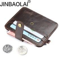 8383c7d45f5e0 حامل محفظة الرجال حامل بطاقة الائتمان البسيطة المحفظة بسيطة المحمولة بو  الجلود حالة id حاملي بطاقات محفظة حقيبة الحقيبة خمر