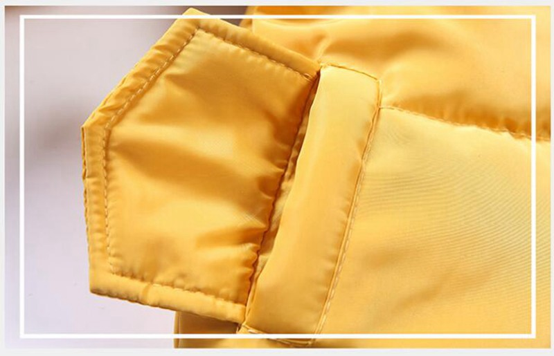 CROAL CHERIE Girls Jackets Kids Boys Coat Children Winter Outerwear & Coats Casual Baby Girls Clothes Autumn Winter Parkas (5)