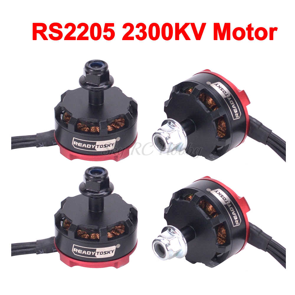 RS2205 2205 2300KV CW CCW Brushless Motor 3-4 S สำหรับ Chameleon Martian II IV 220 มม. 250 มม. FPV RC Quadcopter