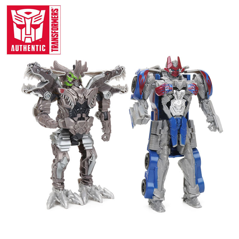 20cm Transformers Toys The Last Knight Turbo Changer Grimlock Optimus Prime Bumblebee PVC Ation Figures Collection Model Dolls рюкзаки transformers prime рюкзак