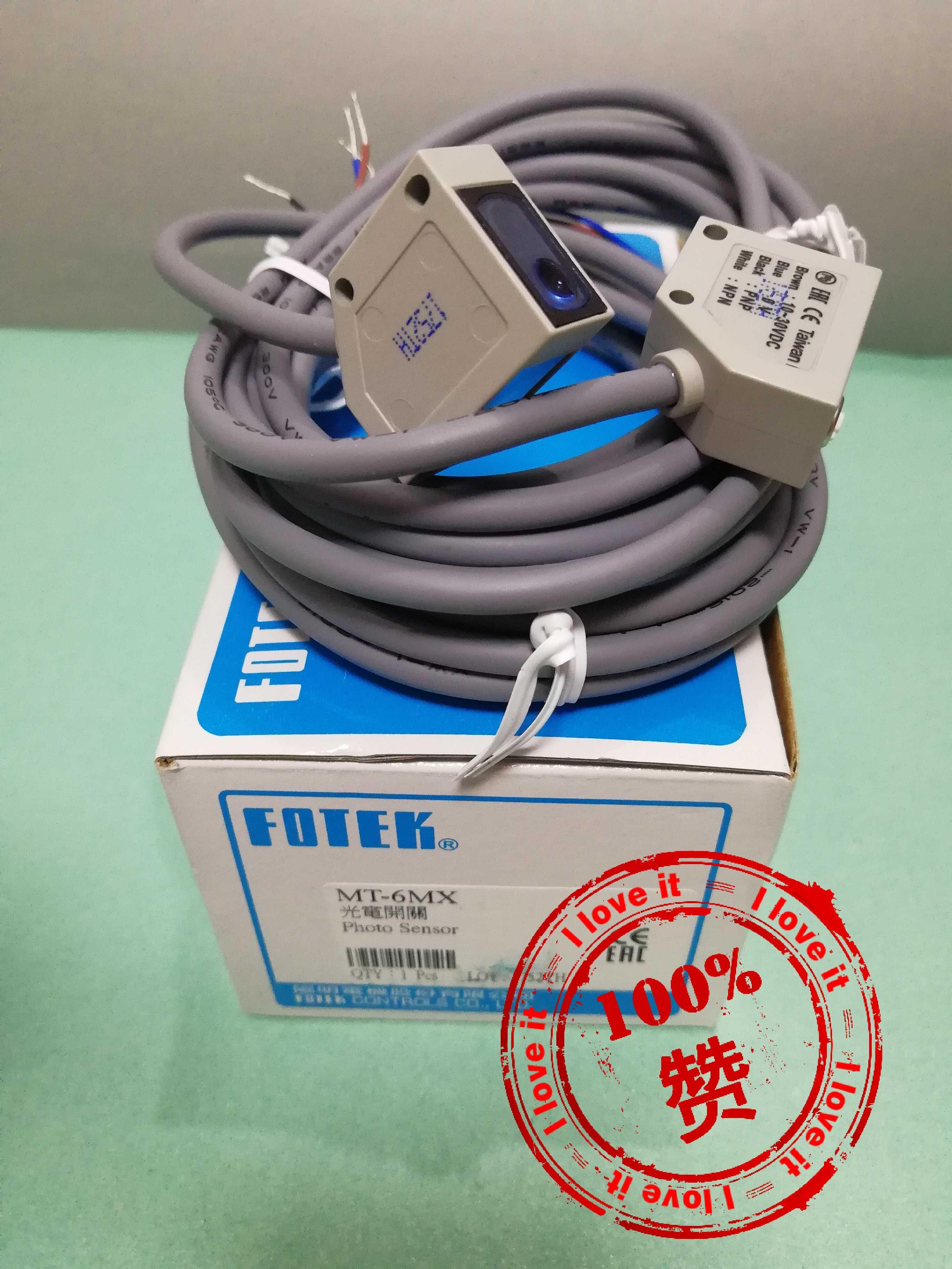Nouveau capteur de commutateur photoélectrique MT-6MX-Laser importé d'origine MT-6MX