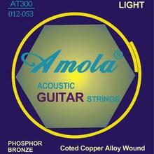 Gratis verzending Elixir 16052 Nanoweb 012-053 Akoestische gitaarsnaren gitaar onderdelen groothandel
