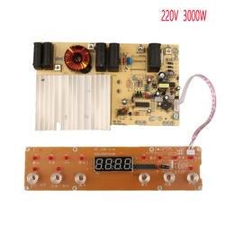 В 220 Вт 3000 в печатной платы с катушкой электромагнитного панель Управление обогревом для индукции плита GW-40B GW-C08