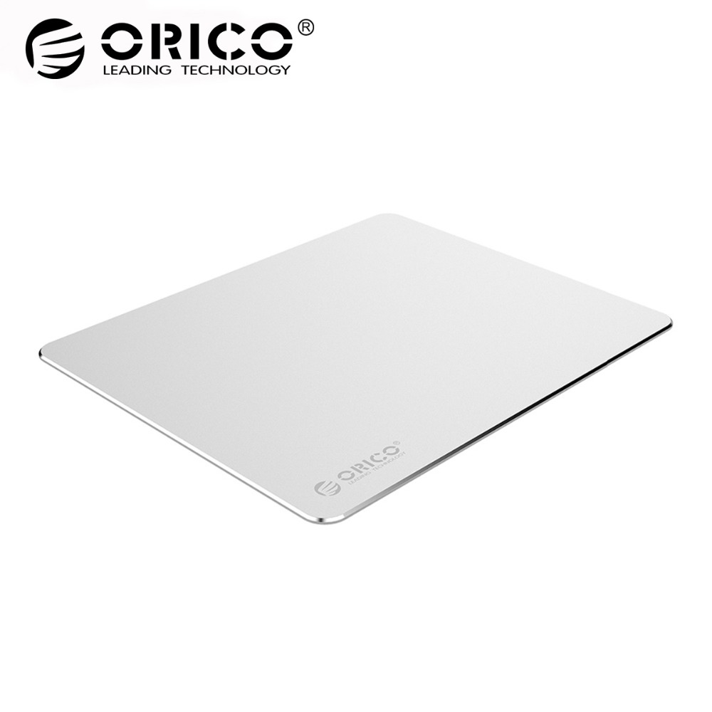 ORICO Aluminum Mouse Pad Anti-slip Silicone Mouse Mat More Smoothly Computer Keyboard Pad creative lute style silicone anti slip pad yellow