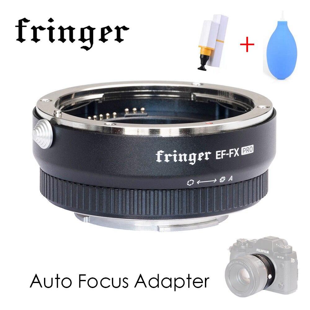 Fringer EF FX PRO Автофокус адаптер Встроенный электронный апертура для Canon EOS Tamron Sigma объектив для Fujifilm FX Mirroless