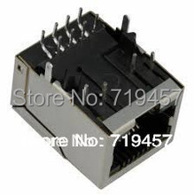 %100 NEW FREE SHIPPING 10PCS/LOT PULSE J0011D01BNL CONN MAGJACK 1PORT 100 BASE-TX цены