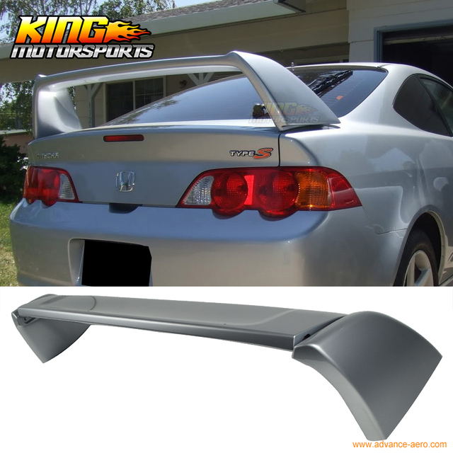 For ACURA RSX DC Type R Trunk Spoiler Painted Satin Silver - Acura rsx type r wing
