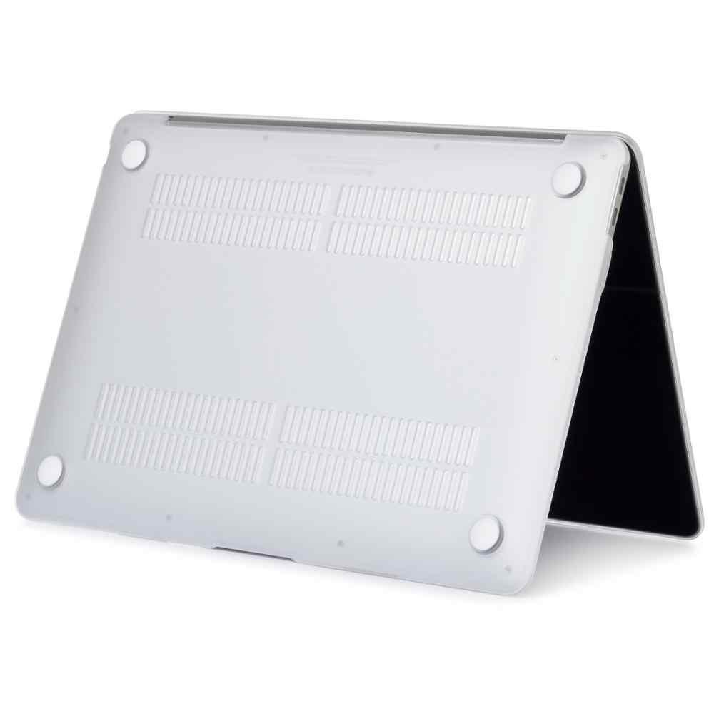 Matte laptop Fällen Für Apple macbook Air 13 11 Pro Retina 12 13,3 15,4 Abdeckung Für Macbook Neue air 13 pro 13 mit Touch Bar