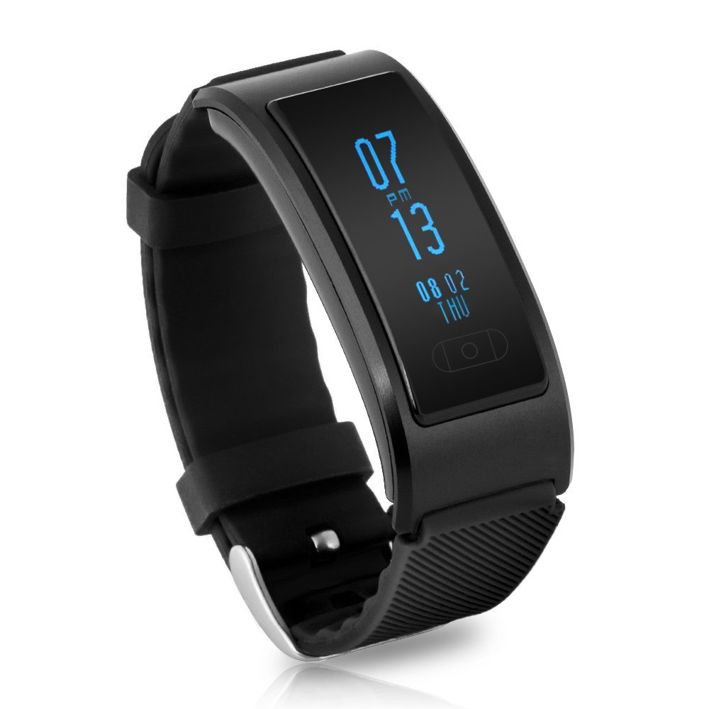 In Stock Bluetooth 4.0 Smart Bracelet Watch Heart Rate Monitor IP68 Waterproof S
