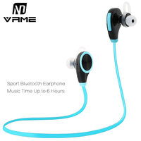 Vrme Bluetooth Headset Microphone Wireless Headphone Handsfree Bluetooth Earphone Stereo Sport Headphones Voice Control Earbuds